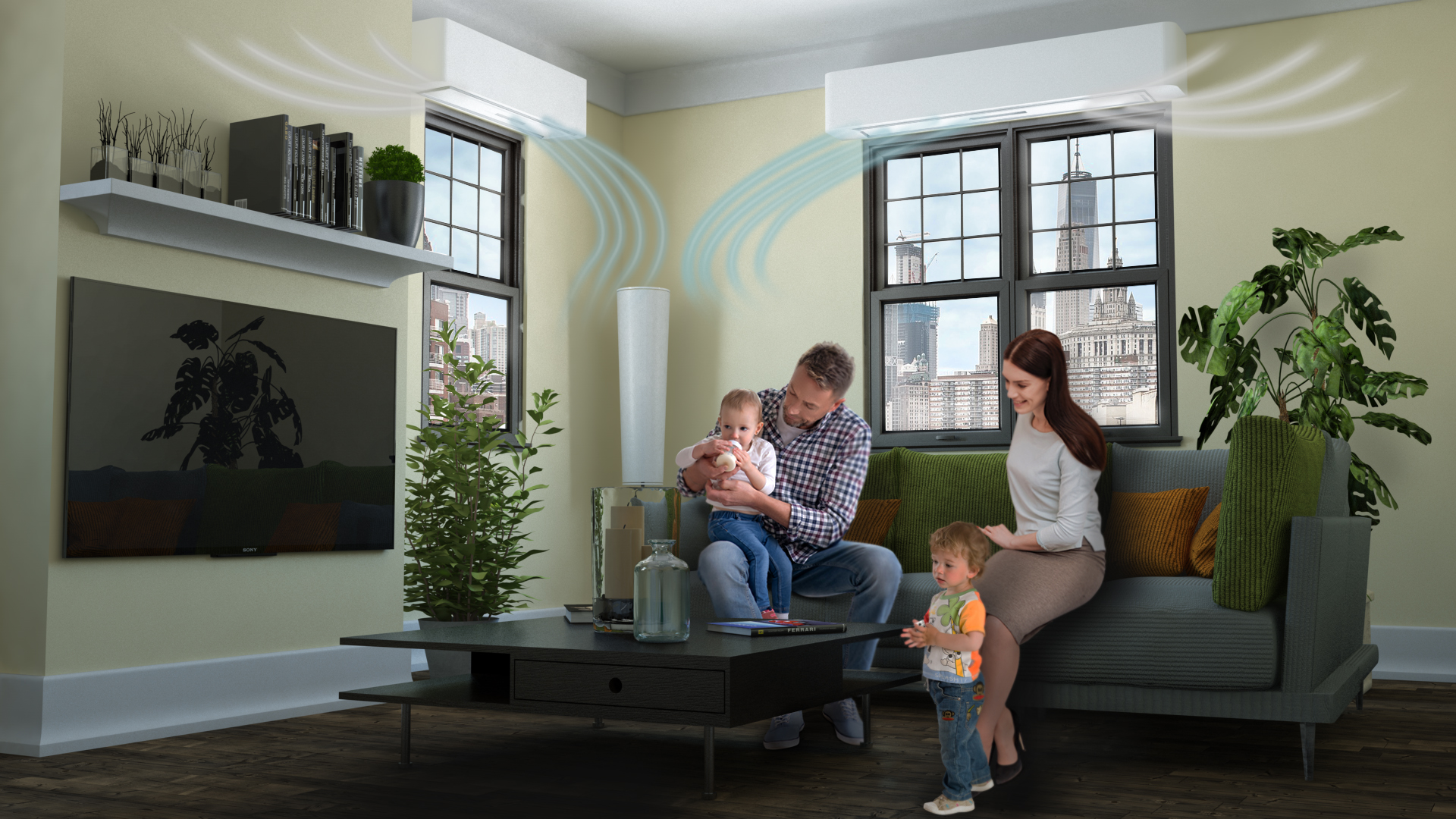 TopShut Air cassonetto tapparelle innovativo che purificatore aria